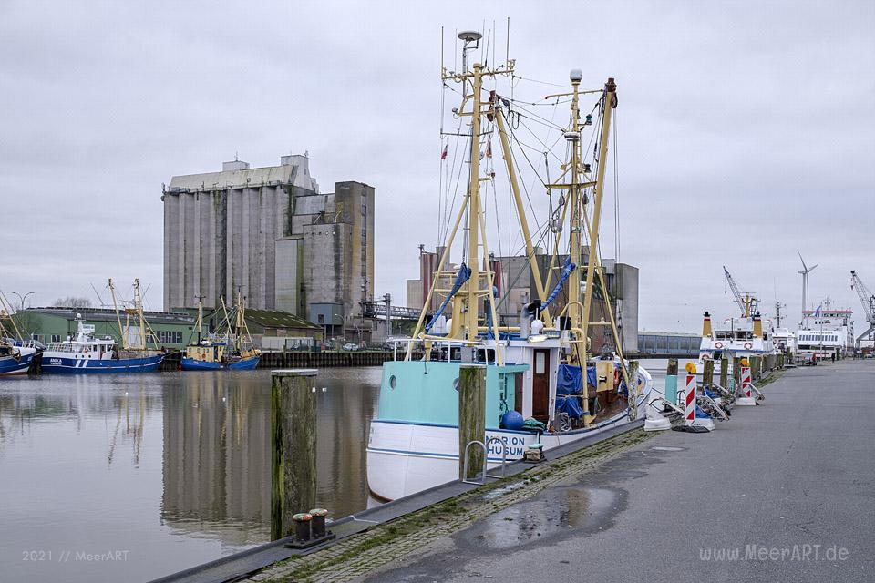 Die graue Stadt am Meer im zweiten Lockdown wegen der Corona Pandemie // Foto: MeerART / Ralph Kerpa