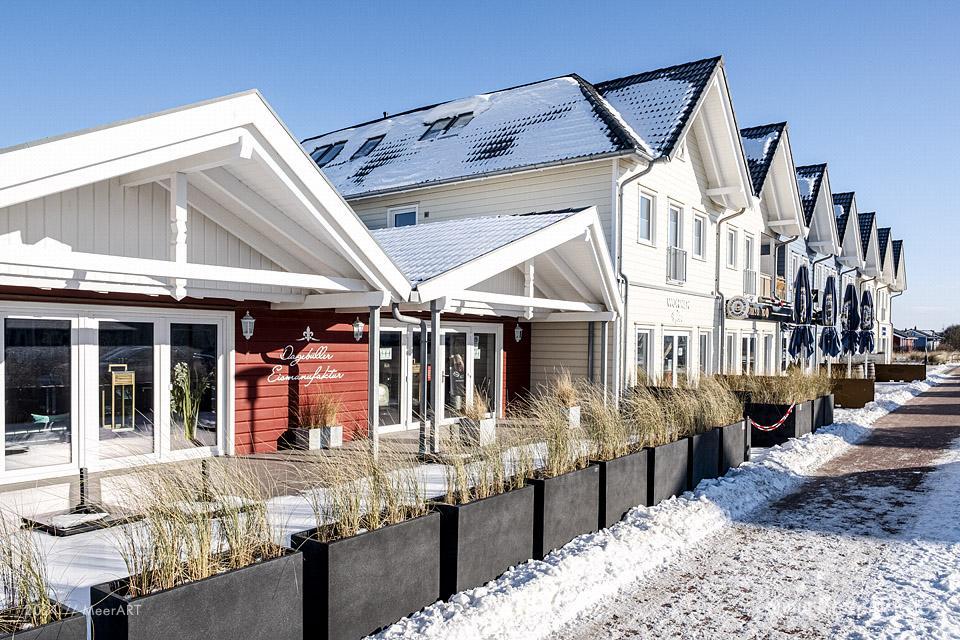 Winter 2021 in Dagebüll Nordfriesland // Foto: MeerART