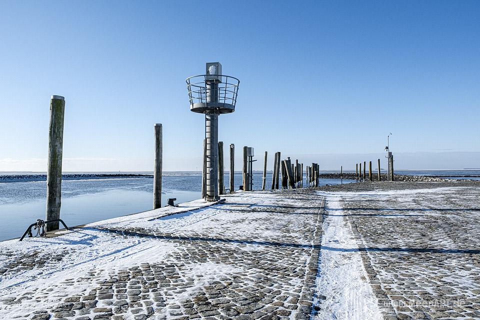 Winter 2021 in Schlüttsiel Nordfriesland // Foto: MeerART