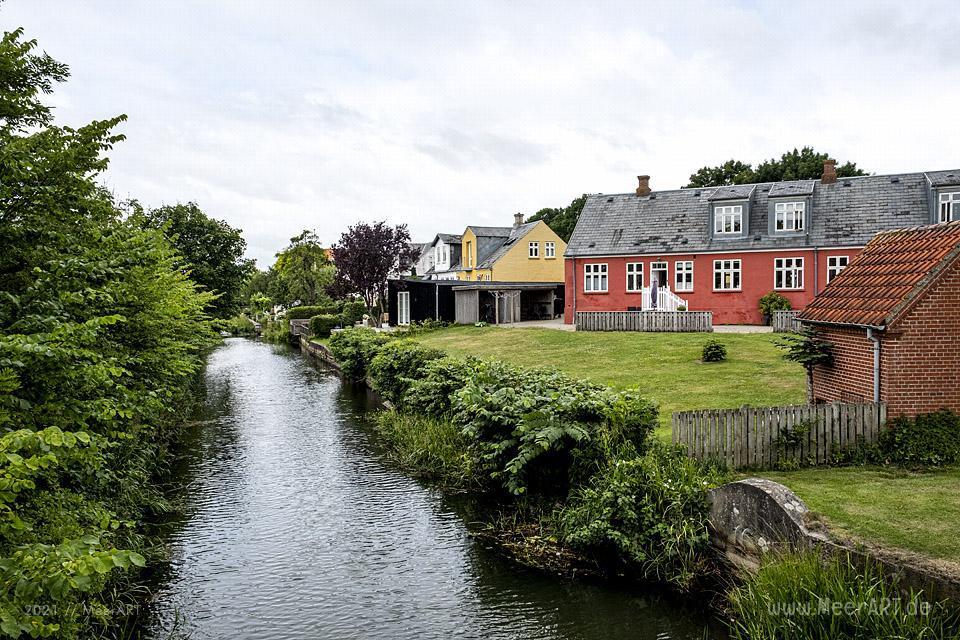 Ribe die älteste Stadt Dänemarks in Syddanmark // Foto: MeerART