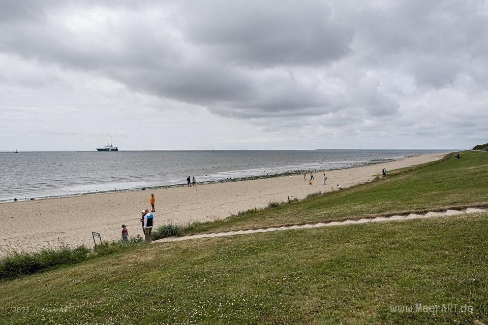 Der Mensch am Meer in Esbjerg // Foto: MeerARTDer Mensch am Meer in Esbjerg // Foto: MeerART