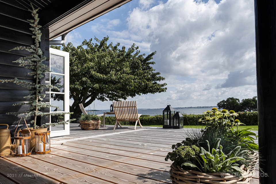 Homestory - Ein Beachhouse auf Helnæs in der dänischen Südsee // Foto: MeerART / Ralph Kerpa
